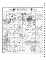 Evansville, Douglas County 1886